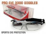 Karakal Pro 3000 Eye Protection Goggles