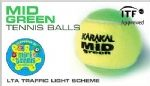 Karakal MID Tennis Balls bag of 12 KZ854