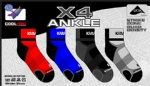 Karakal X4-ANKLE (KC522-23) socks (per pair)