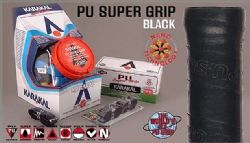 Karakal PU Super Black Pack of 2 KA670