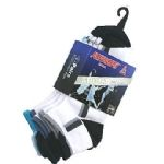 Ashaway Trainer sock, Padded. 3 pack