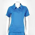 Karakal Womens Polo Shirt - Blue