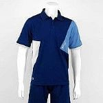 Karakal Dijon Button polo Navy KC566