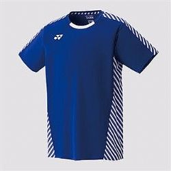 Yonex Mens Crew neck shirt Royal blue 10249