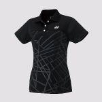 Yonex Ladies Polo shirt Black 20422