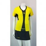 Karakal Ladies Pro Tour T shirt Yellow KC5406