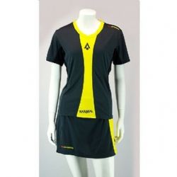 Karakal Ladies Pro Tour T shirt Graphite KC5407