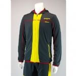Karakal Mens Pro Tour Hoody Graphite-Red KC5404