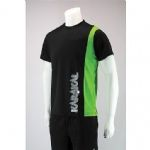 Karakal Ladies Club Tee Black Green KC8050
