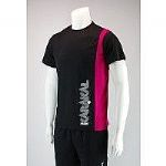 Karakal Club Tee Black-Pink KC8055