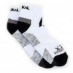 Karakal Mens Trainer socks X2  White-Black KC535