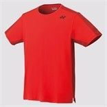 Yonex Crew Neck Shirt Fire red (Slim Fit)10278(Archived)