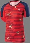 Victor Ladies Shirt International RED 6649