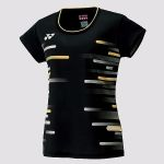 Yonex Ladies T Shirt Black 20466