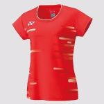 Yonex Ladies T Shirt Fire Red 20466