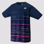 Yonex Mens Replica T Shirt Navy-Fire Red 16368