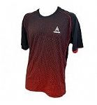 Ashaway Mens Round Neck Black red ARV343